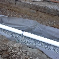 Grants Pass – French Drain install in semi-tight backyard