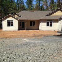 Rural site development including house pad, septic, road, grading – Grants Pass