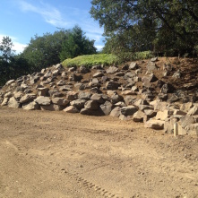 Large Boulder Retaining Wall – Medford East Hills