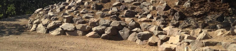 Large Boulder Retaining Wall – Medford East Hills