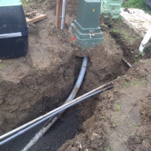 Duplex Utilities – Power, Water, Phone, Data, Drains, Concrete Prep